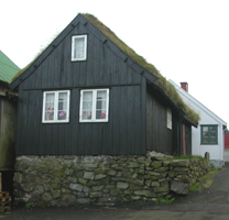 "The house ""við Brunn"""